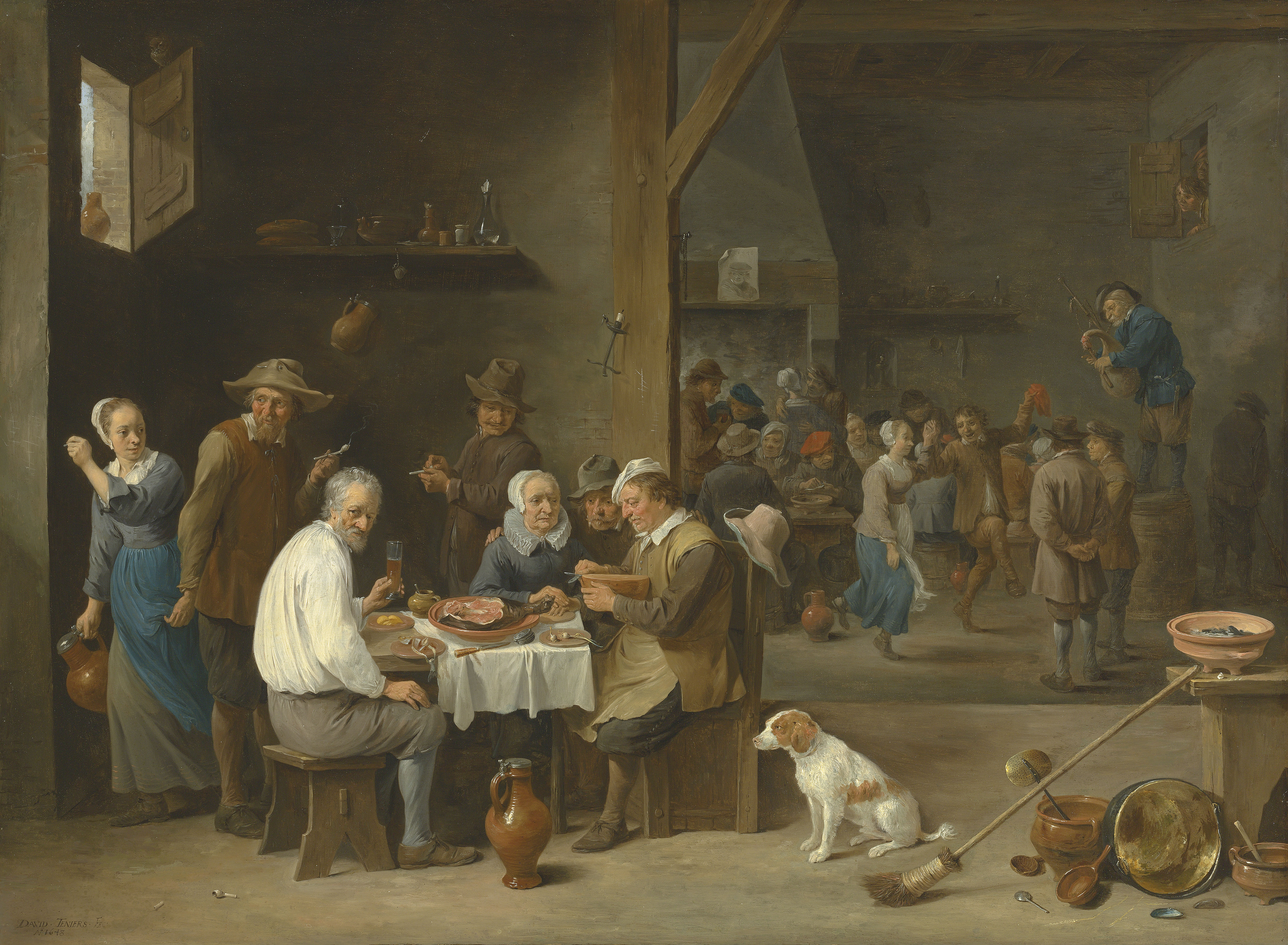 David Teniers, the Younger  (Antwerp 1610-1690 Brussels)