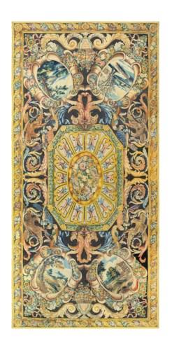 A ROYAL LOUIS XIV SAVONNERIE C