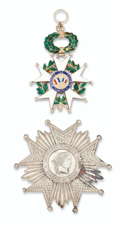 FRANCE, ORDER OF THE LEGION OF