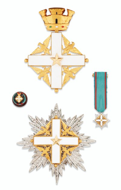 ITALY, ORDER OF MERIT OF THE I