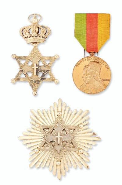 ETHIOPIA, ORDER OF KING SOLOMO