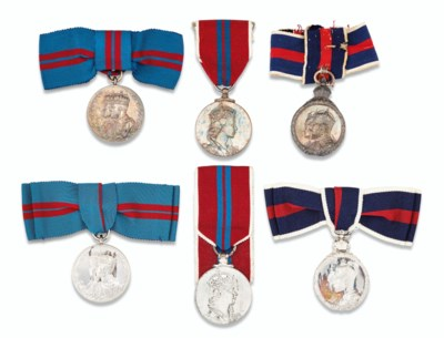 A COLLECTION OF SIX CORONATION