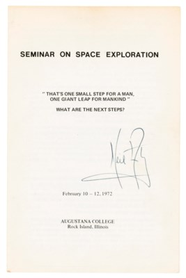 Attending a space exploration seminar