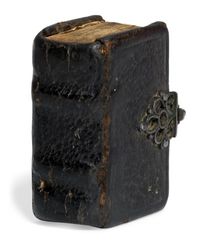 MINIATURE BOOK – Kalendarium. Evangelia 4. Psalmi poenit. 7 . Antwerp...