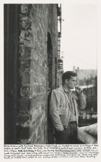 Heroic Portrait of Jack Kerouac, New York, 1953