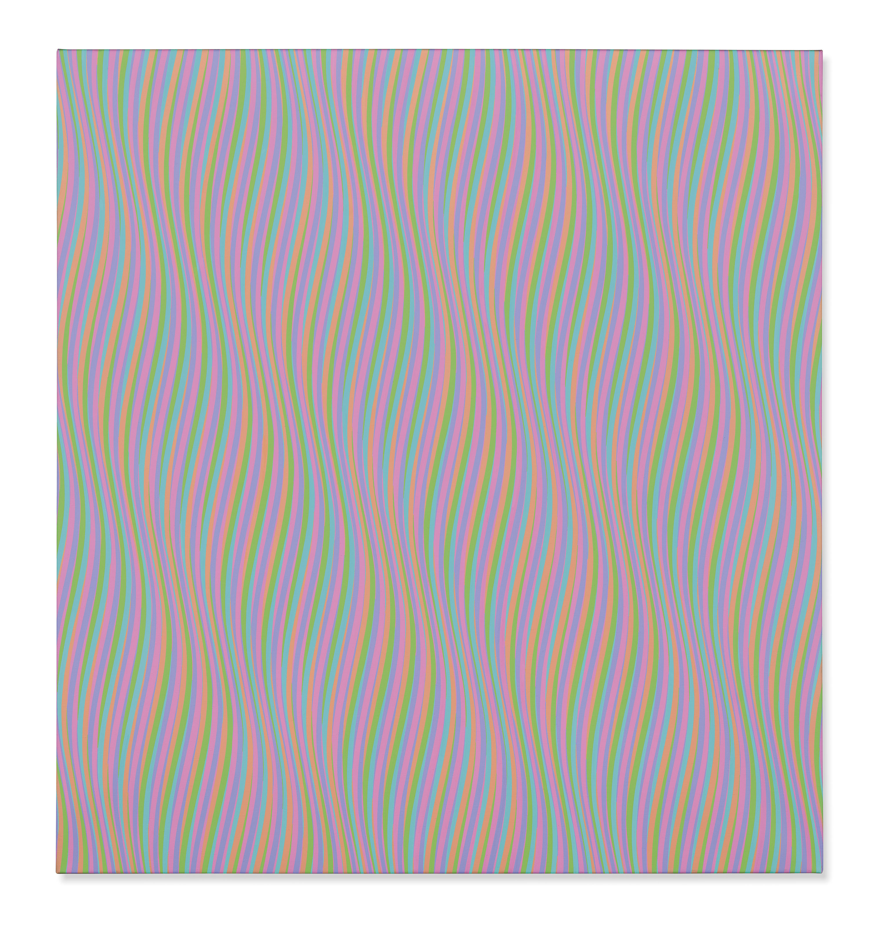 Bridget Riley, Orphean Elegy 7, 1979. Estimate: £1,500,000-2,000,000. Offered in The Jeremy Lancaster Collection on 1 October at Christie's London