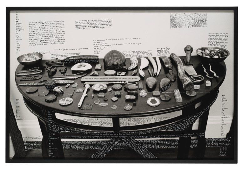 François Marie-Banier (b. 1947), Chez Monsieur Hoare, 2011. Gelatin silver print photograph. Imagesheetflush-mount 31 x 46¾  in (78.7 x 118.7 cm). Estimate £20,000-30,000. Offered in The Oliver Hoare Collectionon 25 October 2019 at Christie's in London