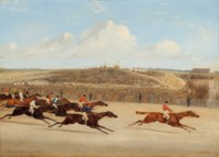Start for the Derby; and Winning the Derby, 1851