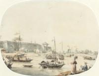 Walls enclosing a city or town called Pou-een-gin, November 3rd 1793