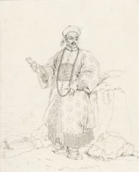 Chow-Ta-Zhin in his dress of ceremony
