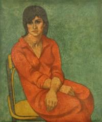 Zat Al Thawb Al Ahmar (Woman with Red Dress)