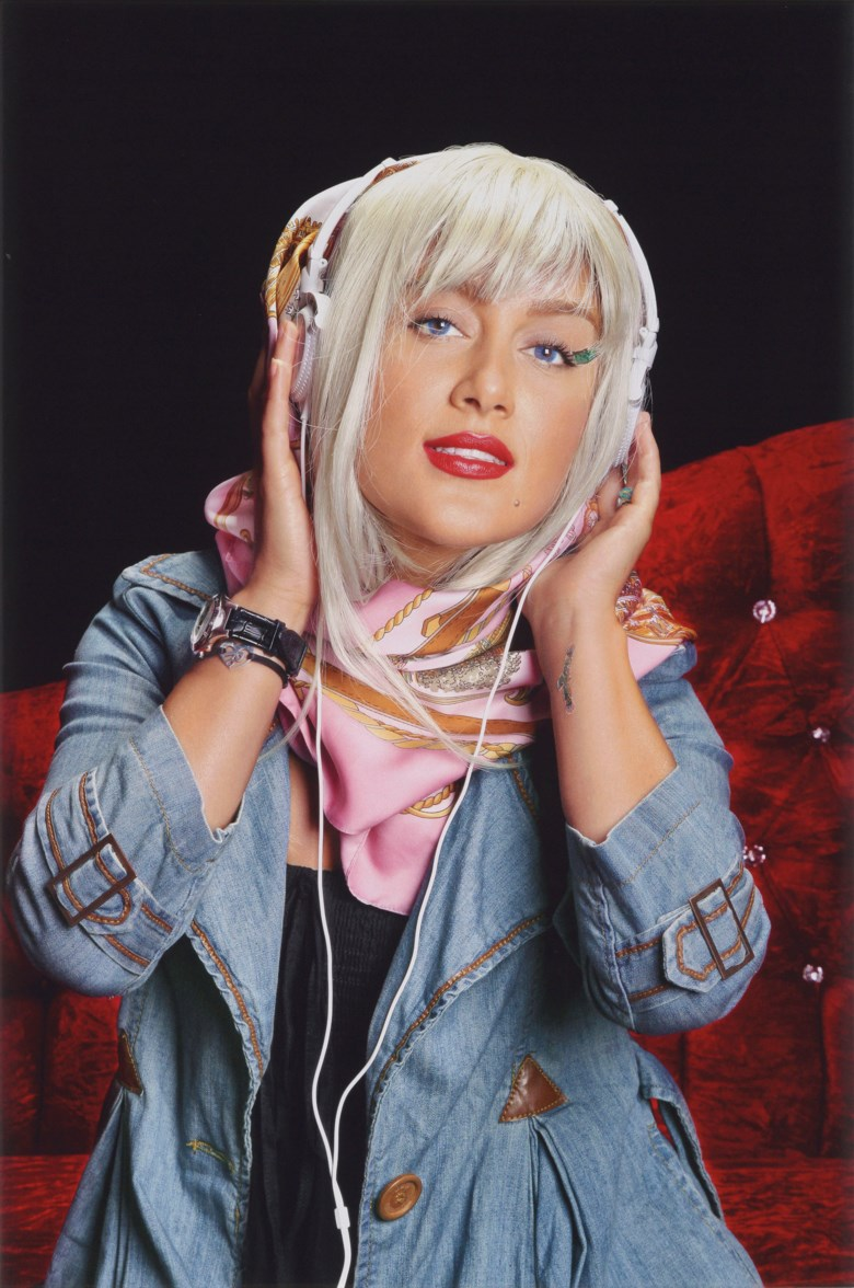 Shirin Aliabadi (Iranian, 1973-2018),  City Girl 2, executed in 2011, this work is number two from an edition of five plus two artists proofs. 39¼ x 59 in (100 x 150 cm). Estimate $7,000-10,000. This lot is offered in Middle Eastern Modern & Contemporary Art on 23 March 2019 at Christie's in Dubai