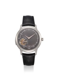VACHERON CONSTANTIN. AN EXCEPTIONAL AND UNIQUE PLATINUM MINUTE REPEATING DOUBLE-FACED PERPETUAL CALENDAR TOURBILLON WRISTWATCH WITH ZODIAC AND DAY/NIGHT INDICATION