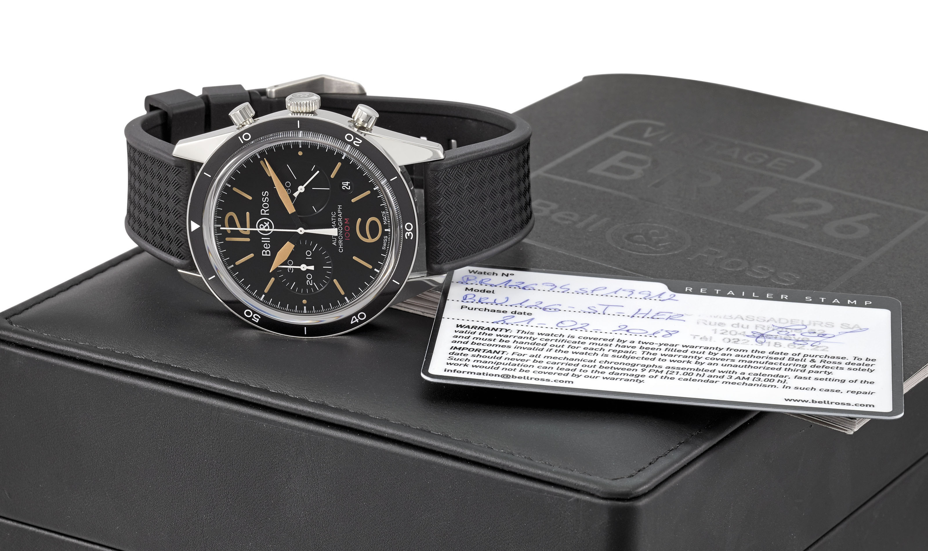 BELL & ROSS A STAINLESS STEEL