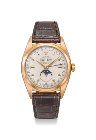 Rolex. An extremely rare and i