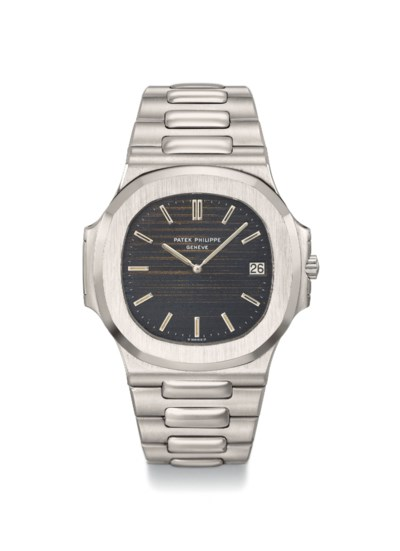 Patek Philippe. An extremely rare and early stainless steel automatic...
