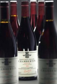 Jean-Louis Trapet  Chambertin 2001  (3) Latricières-Chambertin 2001  (2) Gevrey Chambertin Clos Prieur 2001  (1) Gevrey Chambertin 2002  (1)