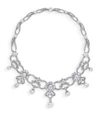 LATE 19TH CENTURY DIAMOND NECKLACE/TIARA, KÖCHERT