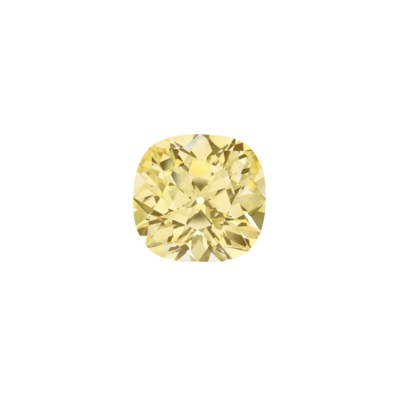 IMPRESSIVE UNMOUNTED COLOURED DIAMOND
