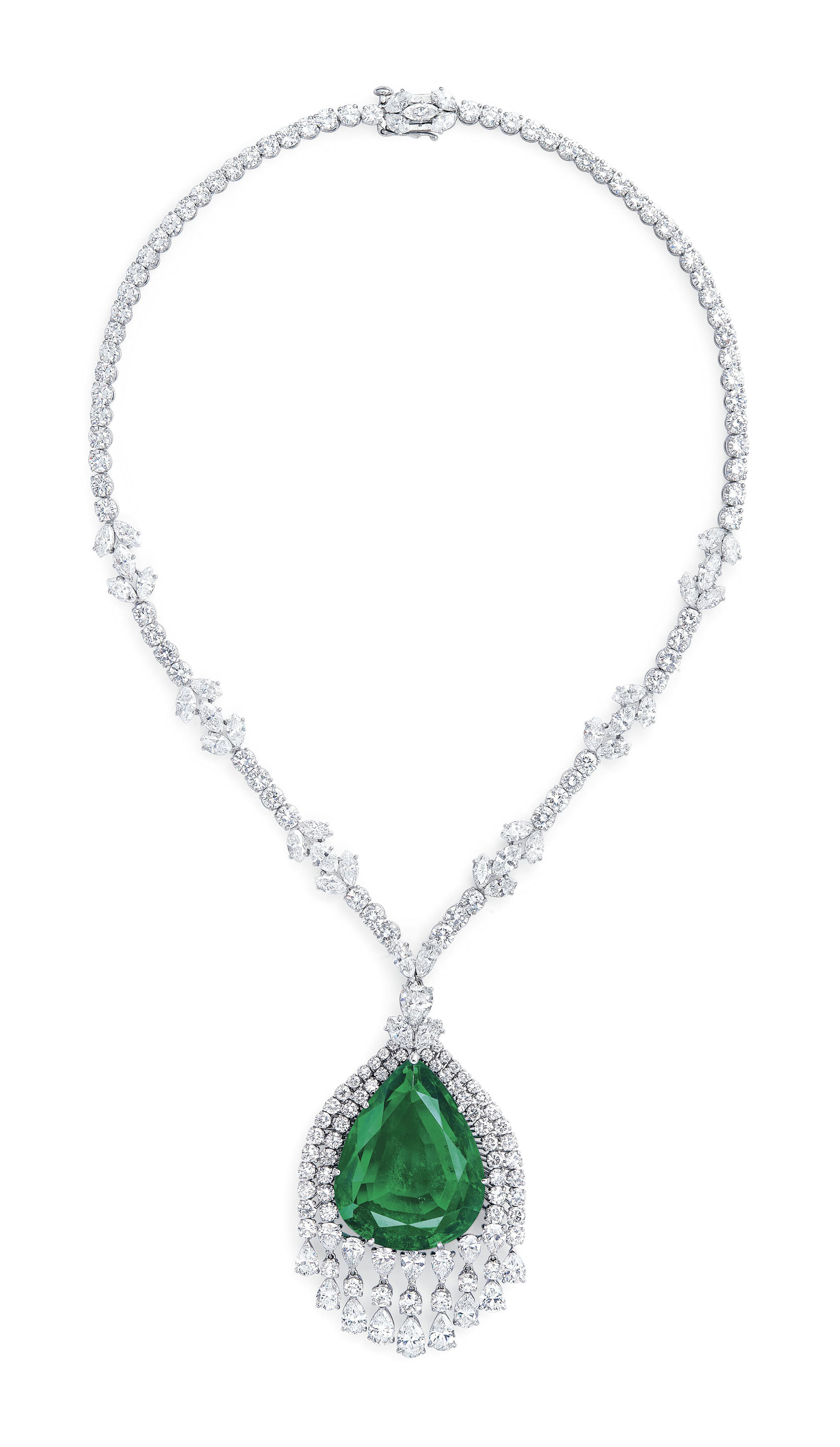 THE IMPERIAL EMERALD OF GRAND DUCHESS VLADIMIR OF RUSSIA