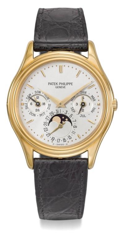 Patek Philippe. A very fine 18