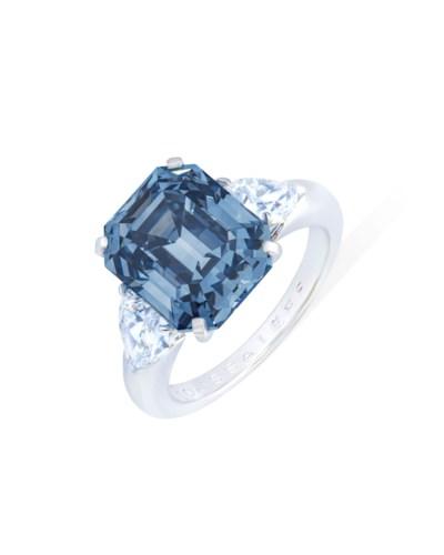 EXCEPTIONAL COLOURED DIAMOND A