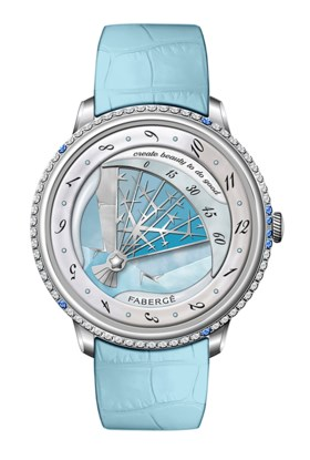 FABERGÉ  WINTER     Fabergé is proud to introduce this year'