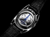 DE BETHUNE + URWERK MOON SATELLITE FOR ONLY WATCH 2019   Expressing the perfection ofthe celestial order, this unique timepiece is a complex interaction of mechanisms specific to De Bethune and Urwerk – a true fusion of their watchmaking genes.