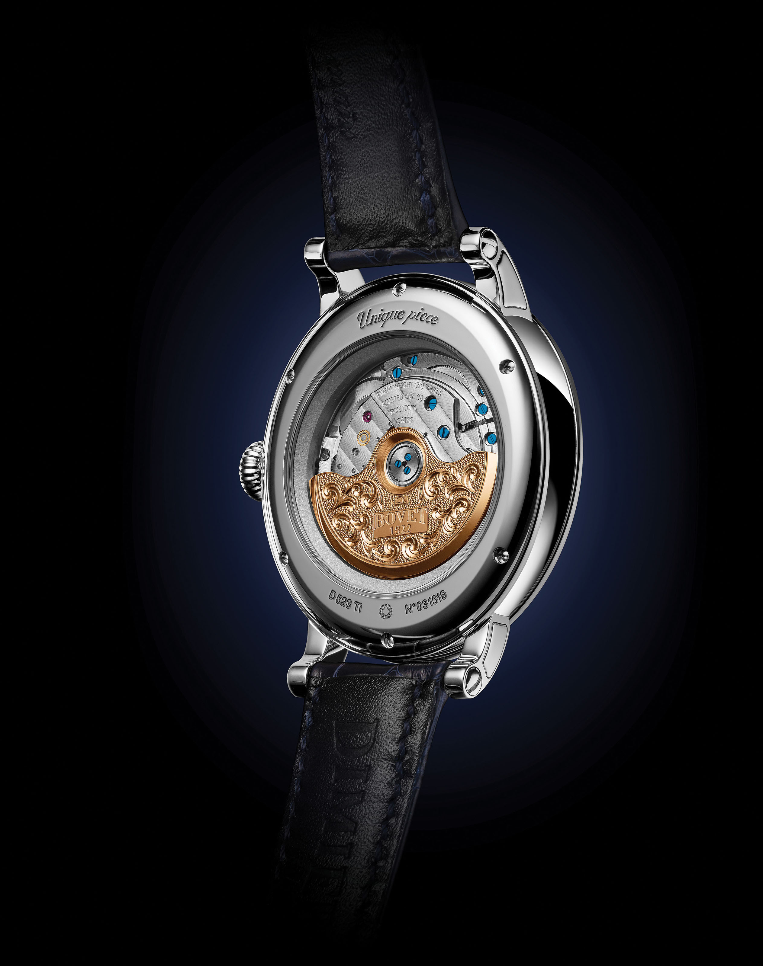 """BOVET 1822 RÉCITAL 23 """"HOPE""""  With Récital 23 """"Hope"""" timepiece, BOVET watchmakers create an enchanting universe, to which engravers and miniaturist painters of the House then add their poetic touch, by sending a sincere message of hope."""
