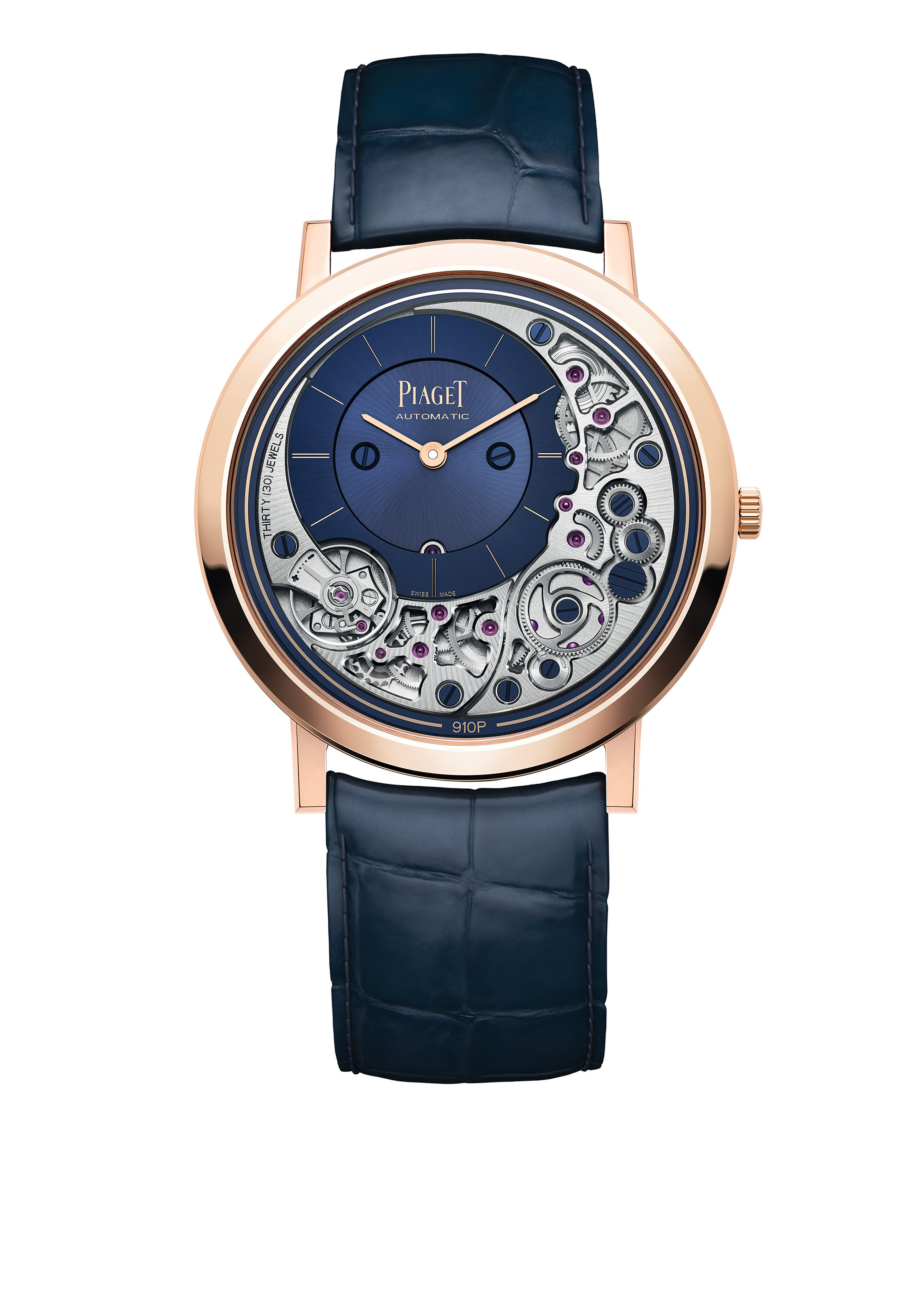 PIAGET ALTIPLANO ULTIMATE AUTOMATIC At only 4.30mm thick, the Altiplano...