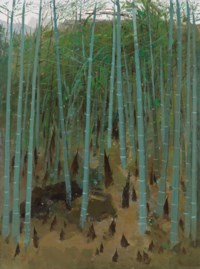 Spring Shoots Among Bamboos
