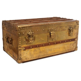 e457568df2cc The most expensive Louis Vuitton trunk ever