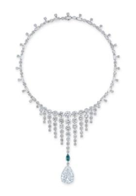 EXCLUSIVE COLOURED DIAMOND AND DIAMOND NECKLACE, BULGARI