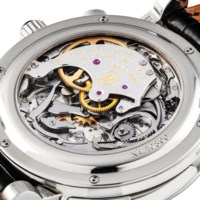 PARMIGIANI. AN EXTREMELY FINE AND VERY RARE 18K WHITE GOLD SEMI-SKELETONISED WESTMINSTER CARILLON MINUTE REPEATING TOURBILLON WRISTWATCH WITH 24 HOUR DUAL TIME ZONE