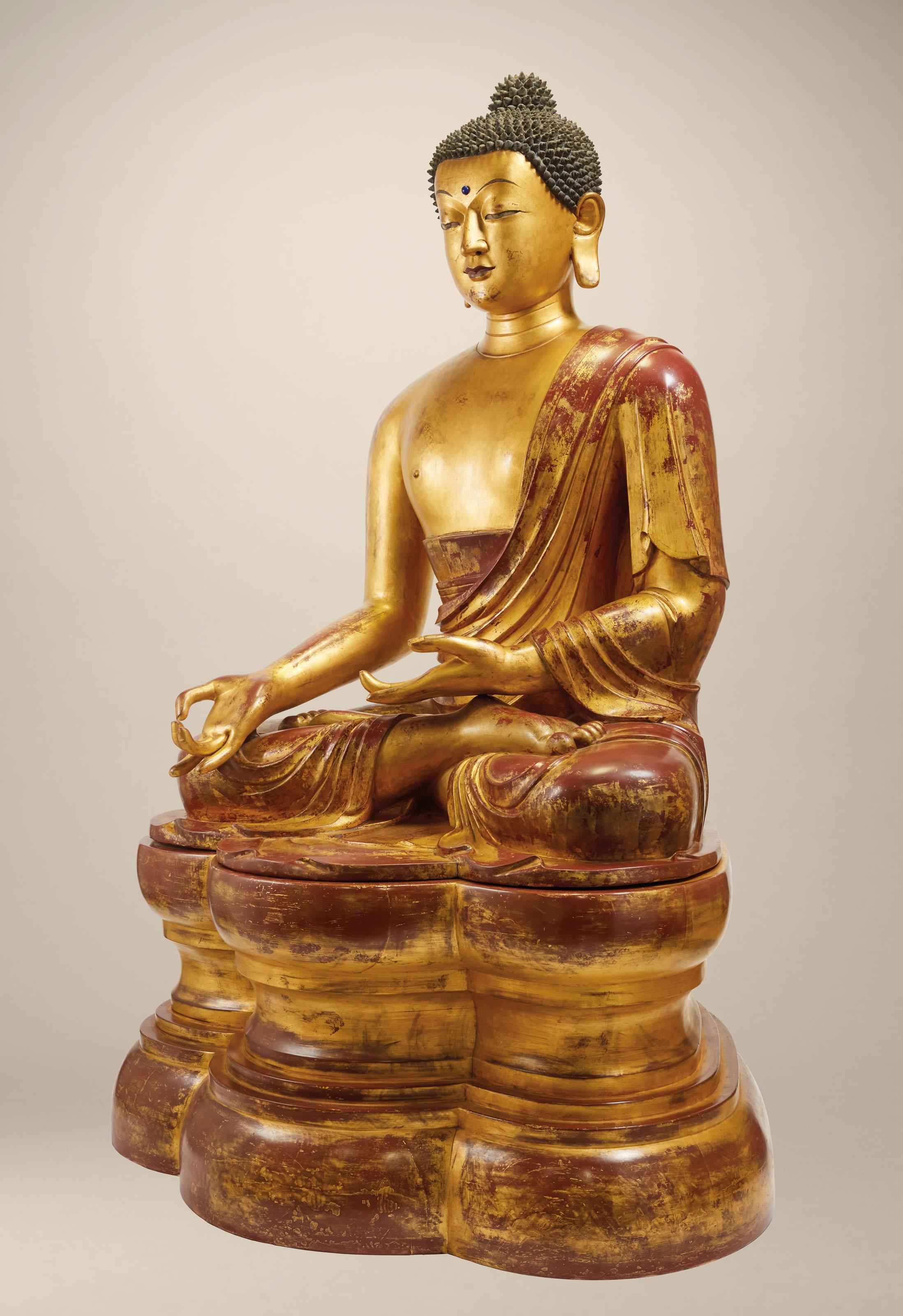 English Pattern Little chinese buddha