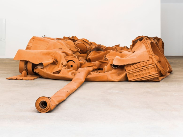 He Xiangyu (b. 1986), Tank Project, 2011-2013. Size 150 (H) x 890 x 450  cm (59 x 350⅜ x 177⅛  in). Estimate HK$4,000,000-5,000,000. Offered in ICONOCLAST on 25 May 2019 at Christie's in Hong Kong