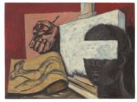 El estudio del pintor (also known as Naturaleza muerta--Autorretrato)