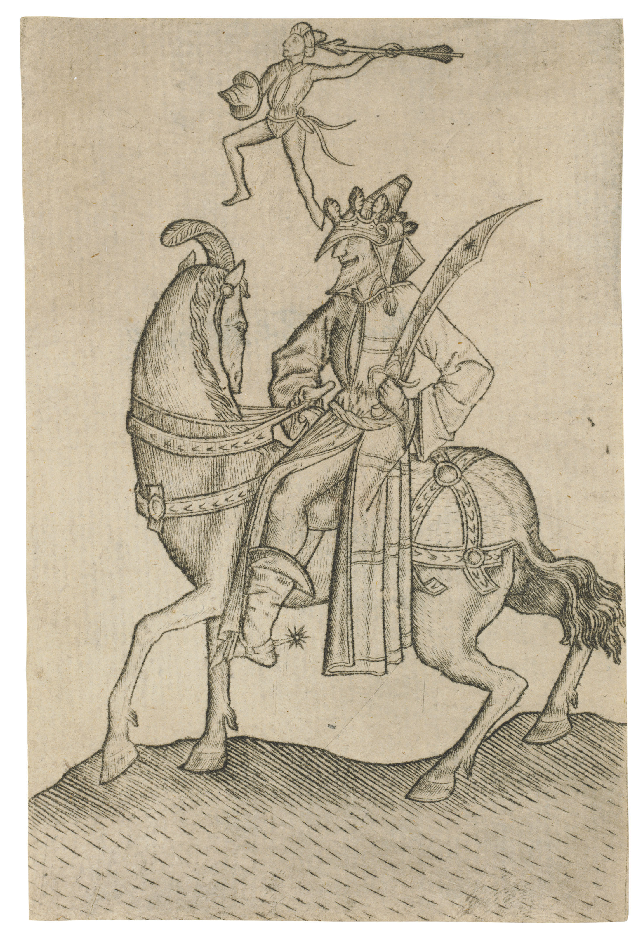 The King of Men, from: The Large Deck of Playing Cards