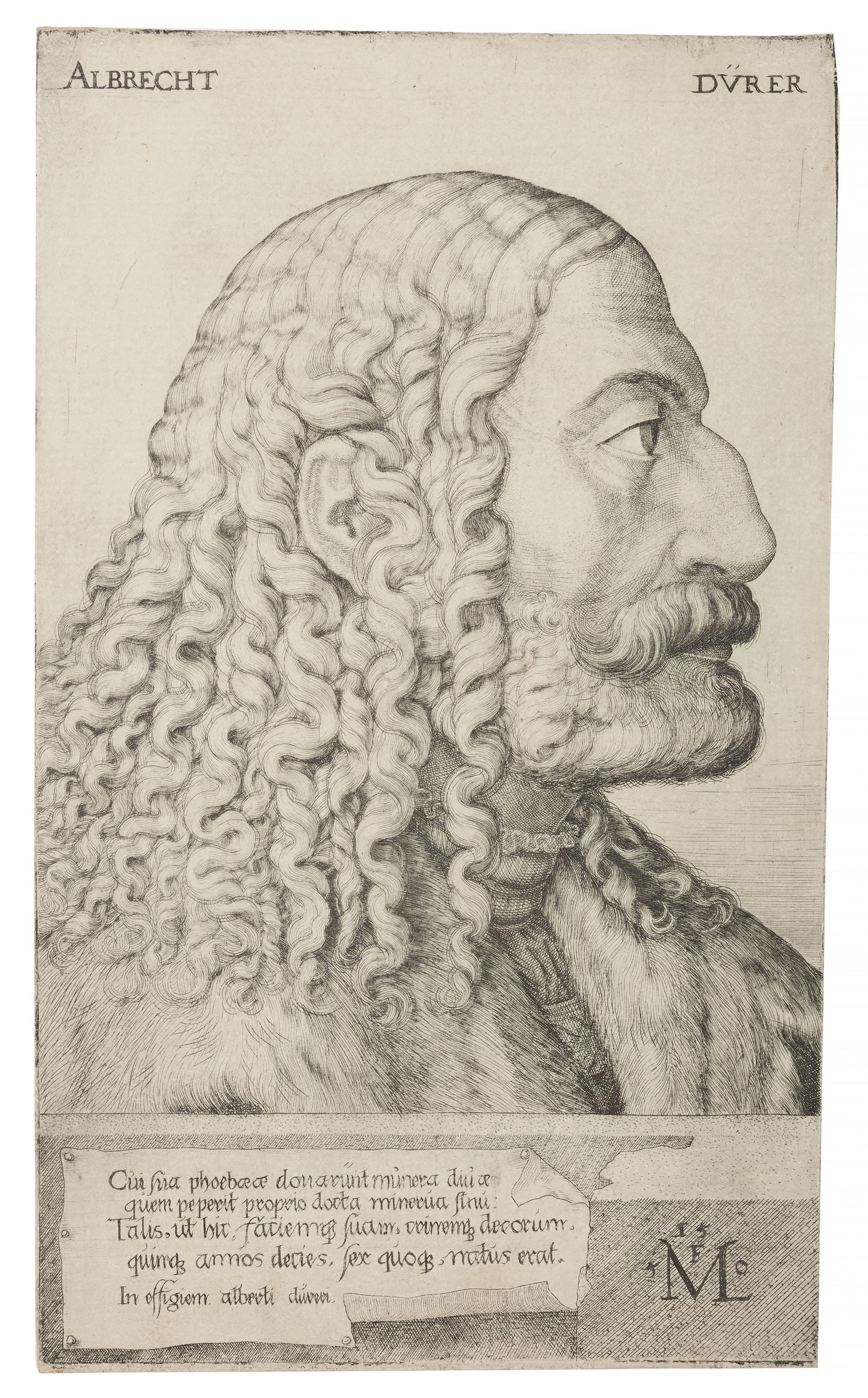 Portrait of Albrecht Dürer