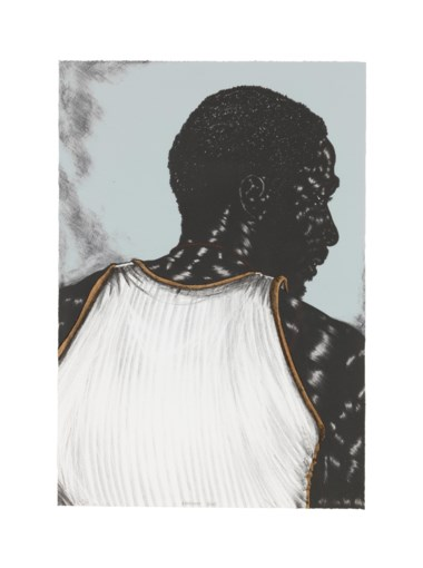Toyin Ojih Odutola (b. 1985), Birmingham (right). Sheet 24 x 16½ in (609 x 419 mm). Estimate $7,000-10,000. Offered in Contemporary Edition, 9-16 July 2019, Online