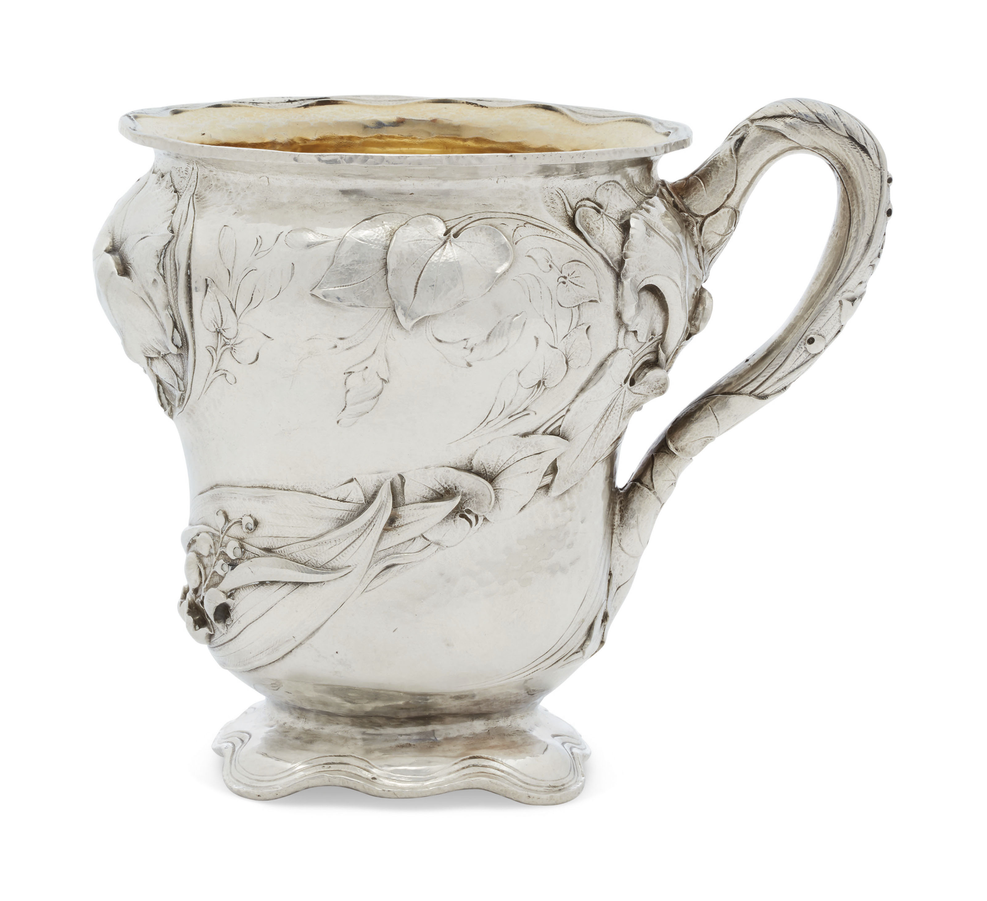 ''FIRST SPECIAL ORDER OF MARTELE'': AN AMERICAN SILVER CHILD'S CUP