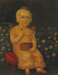Seated Girl with Strawberries