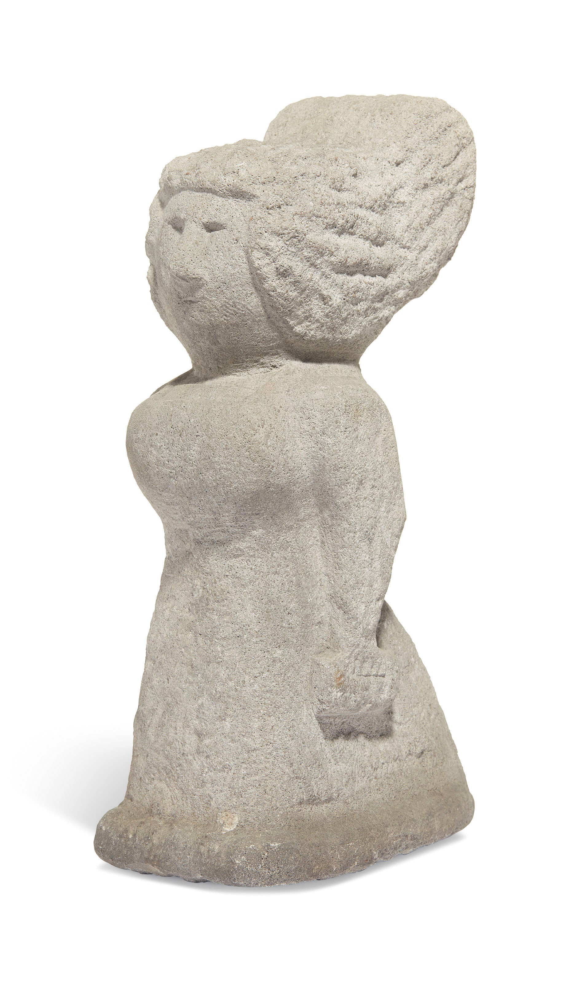 William Edmondson (1874-1951), Lady, 1930s. Sold for $237,500 on 18 January 2019 at Christie's in New York