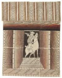 Untitled (Horse and Rider), circa 1953