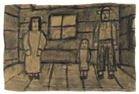 Untitled (Three Figures in Room)