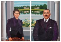 A Pair of Portraits of Pete and Kirtina