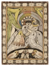 Untitled (the masked man), double sided, 1920