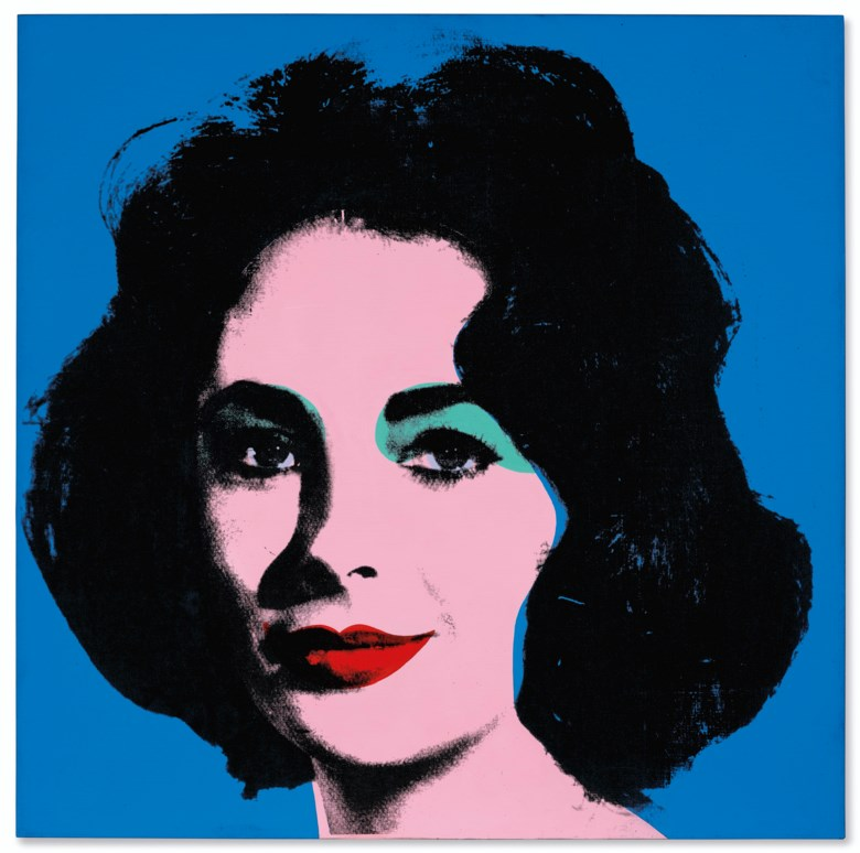 Andy Warhol (1928-1987), Liz [Early Colored Liz], painted in 1963. Synthetic polymer and silkscreen ink on canvas. 40 x 40  in (101.3 x 101.3  cm). Estimate $20,000,000-30,000,000. Offered in Post-War and Contemporary Art Evening Sale on 15 May 2019 at Christie's in New York © 2019 The Andy Warhol Foundation for the Visual Arts, Inc.  Licensed by Artists Rights Society (ARS), New