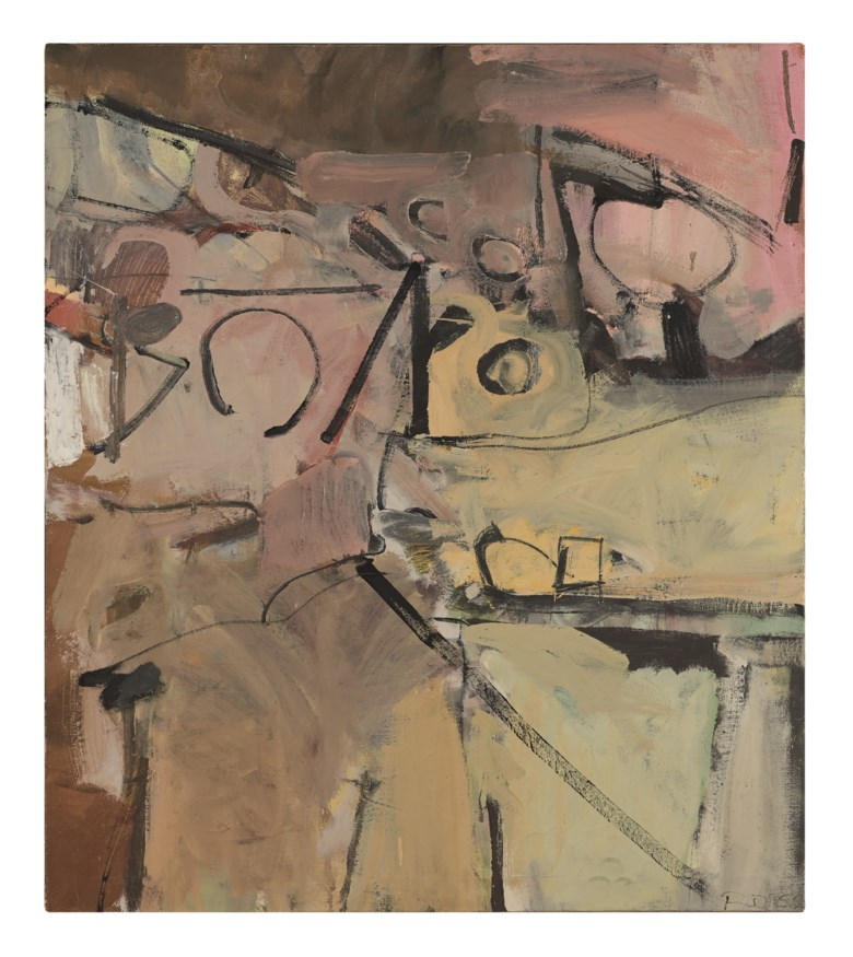 Richard Diebenkorn (1922-1993), Untitled (Albuquerque), 1952. Oil on canvas. 41 x 36  in (104.1 x 91.4  cm). Estimate $500,000-700,000. Offered in Post-War and Contemporary Art Morning Session on 16 May 2019 at Christie's in New York