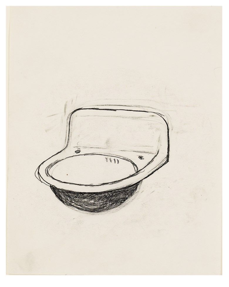 Robert Gober (b. 1954), Untitled, 1984. 10⅜ x 8¼  in (26.4 x 21  cm). Estimate $30,000-40,000. Offered in Post-War and Contemporary Art Afternoon Session on 16 May 2019 at Christie's in New York